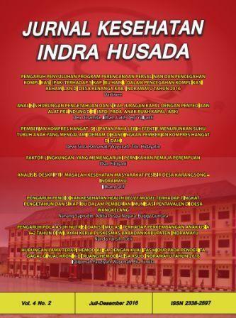 Jurnal Kesehatan Indra Husada Vol.4 No.2 2016