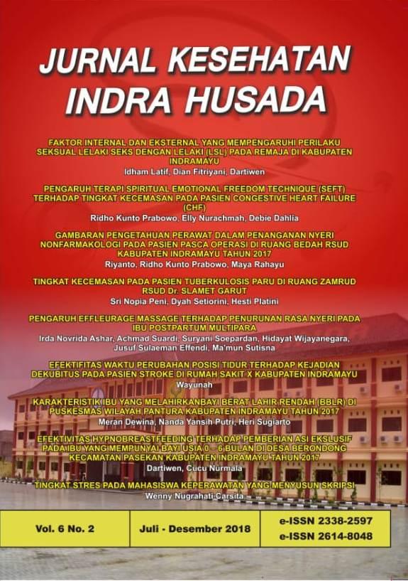 Jurnal Kesehatan Indra Husada Vol.6 No.2